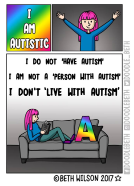 beth wilson with autism